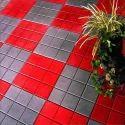 Ceramic Designer Concrete Tile, Size: Medium