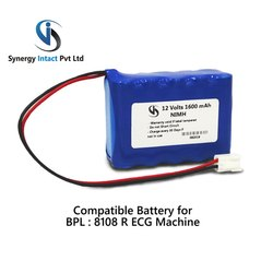 BPL 8108R 12 Volt 1600mAh NiMH Battery