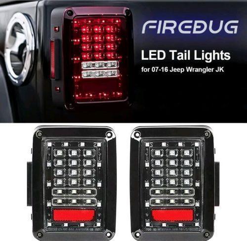 Firebug Jeep Wrangler Rear Led Lights Jeep Wrangler Led Tail Lights Jeep Brake