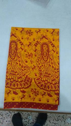 Cotton Printed Traditional Saree