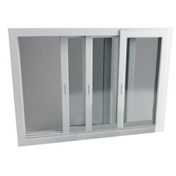 Three Way Sliding UPVC Window