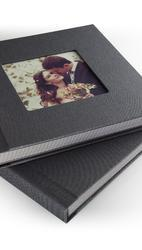Plastic Sleeve Photo Album In Bark Paper For 36 Photos