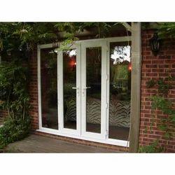 Light Oak Color UPVC Hinged Door, Height: 6 to 7 feet
