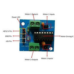 Embeddinator L293D Motor Driving Module