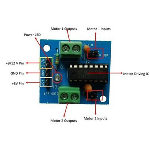 Embeddinator L293D Motor Driving Module, Rs 79 /piece EngeniusLab | ID:  19599385362