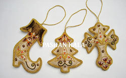 Zari Embroidered Christmas Items
