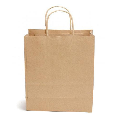 Kraft Plain Paper Bags, Capacity  500gm And 5kg, Rs 10  piece   ID ... c4ab3b2259