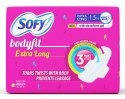 Extra Long Sofy Sanitary Pad with Absorbent Gel