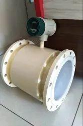 Battery Operated Digital Electromagnetic Flow Meter