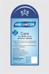 Sanitizer Sticker & Label Designing