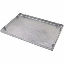 Iron/Ductile Iron Full Floor (Rectangular) Recessed Manhole Cover