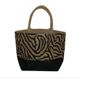 Printed Jute Fashion Bag
