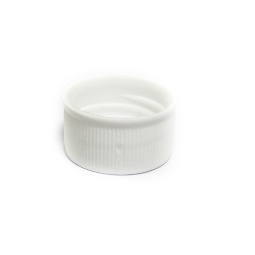 White PP Cap, Size: 28mm