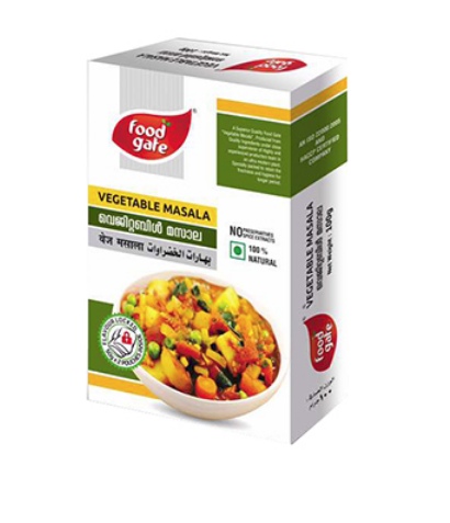 Food Gate Vegetable Masala, Packaging: Packet, Box