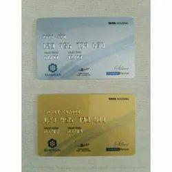 Embossed Gold & Silver PVC Membership Card