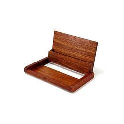 Wooden Visiting Card Holder