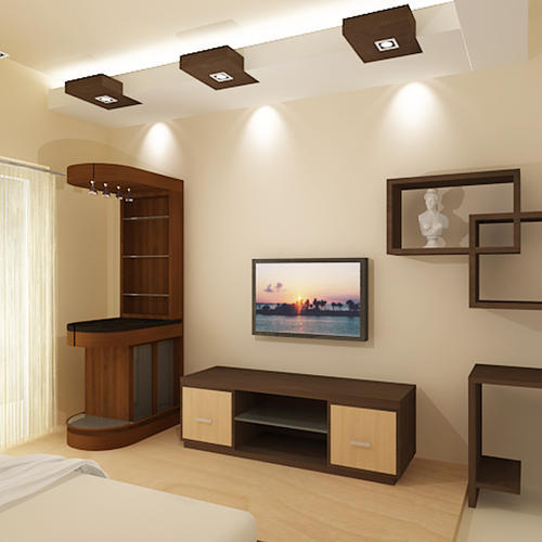 Interior Design Works ( False Ceiling,Tilling)