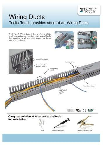 Trinity Touch Wiring Ducts on