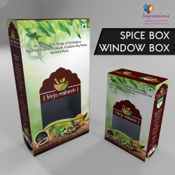 Food Pacakaging Box with Window