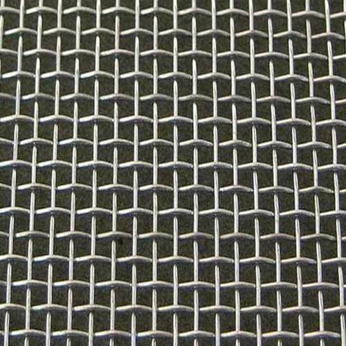 Wire Mesh Screen : Double crimped wire mesh crimp quality