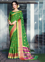 Casual Wear Mango Silk Sarees