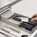 Cutlery Kitchen Rack Compact 2 Tier Knife Organiser