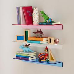 Acrylic Colorful Wall Shelves