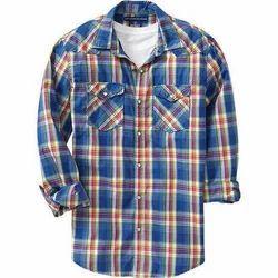 b97c99de Mens Cotton Check Shirt