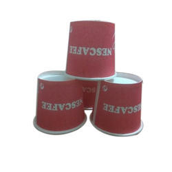 Paper Disposable Cup 90 Ml, Packet Size (pieces): 100 Pieces
