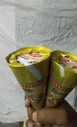 Manual ice cream cone machine