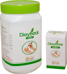 Antidiabetic Medicine - Diayback Tablet.