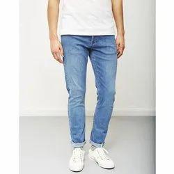 Comfort Fit Blue Mens Denim Jeans
