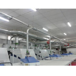 GI Round Bend Ducting Service
