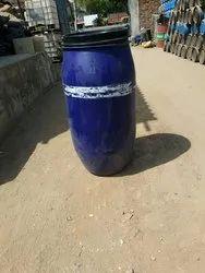 Blue Water 180 Litre Removable Head Plastic Drum