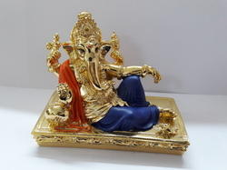 Ganesha Gold Plated Statue