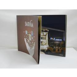 Marketing And Promotion Augmented Reality Brochures