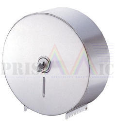 Silver ABS Plastic Toilet Roll Dispenser