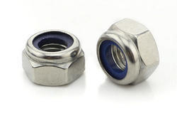 Threaded Nylock Nut, Size: M5 -m12