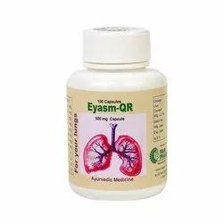 Ayurvedic Eyasm QR Capsule, Packaging Size: 100 Capsule