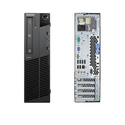 i5 Lenovo M82 Business Desktop Computer, Refurbished, Windows 10 Pro, RAM Size: 8 Gb