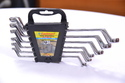 Ring Offset Elliptical Spanner Cr-v, (6 Pcs Set) E-2407