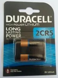 Duracell 2CR5 Lithium Battery