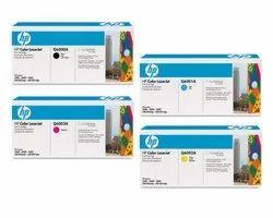 HP Q6000A, Q6001A, Q6002A, Q6003A Color Toner Cartridges