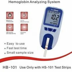HB-101 AccuSure Hemoglobin Analyzing  System