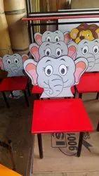 Elephant Wooden Chair