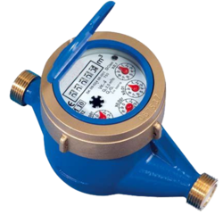 Capstan Cast Iron Inferential Dry Dial Water Meter, Domestic and Residential