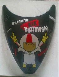 Kick Buttowski Themed Stickers