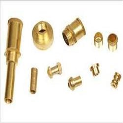 Industrial Brass Component, Gold