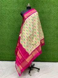 Pochampally Ikkat Silk Dupatta