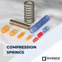 Silver Alloy Compression Spring